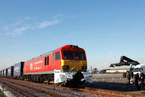 Logistics BusinessFirst Freight Train From China Arrives in London