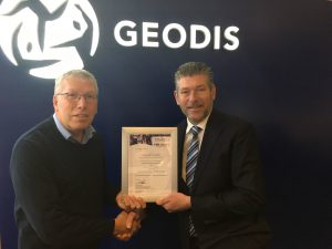 Logistics BusinessTAPA Certification For GEODIS Rotterdam Warehouse