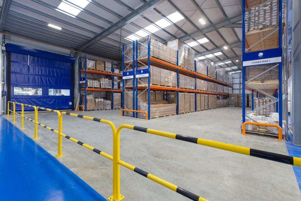 Logistics BusinessTemporary Building Solution For Lighting Specialist