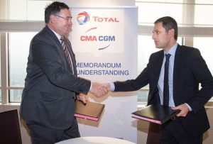 Logistics BusinessTotal and CMA CGM Sign Fuel Sustainability MoM
