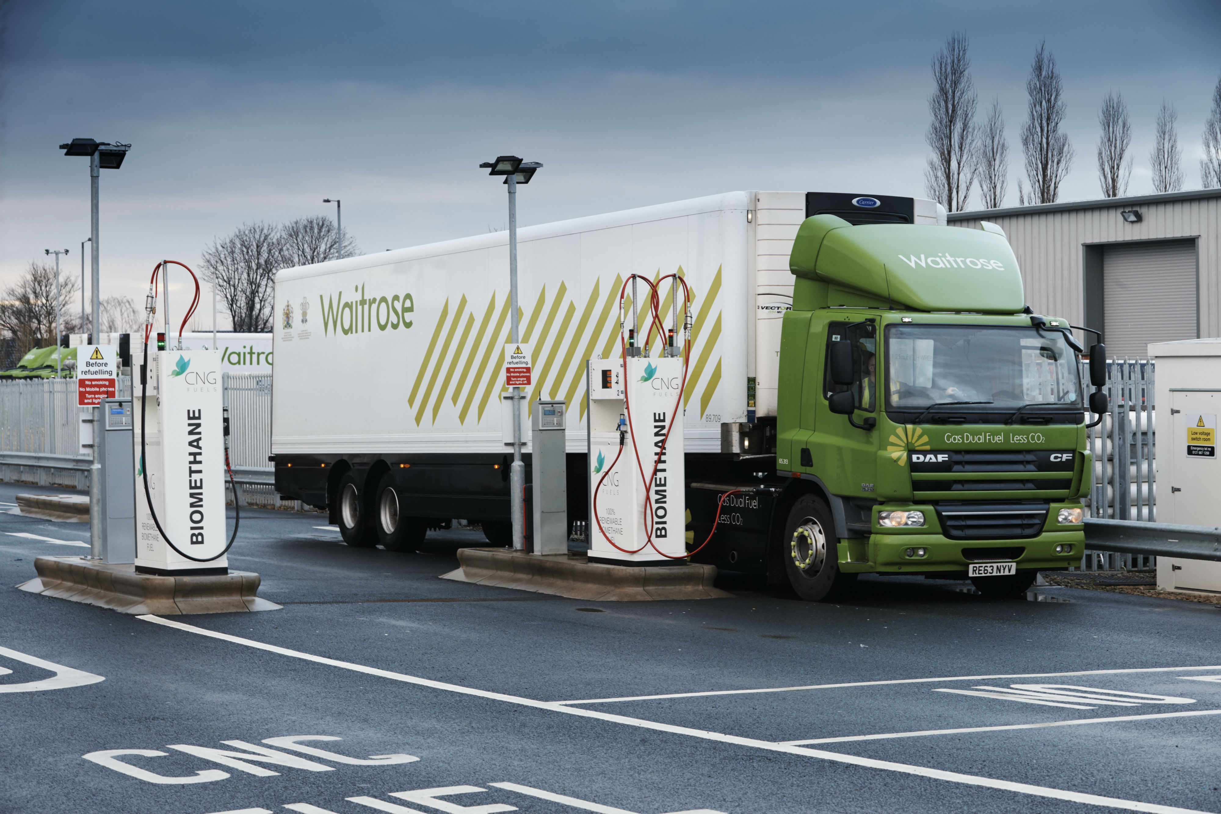 Uk Supermarket Launches Quot Game Changing Quot Cng Trucks To