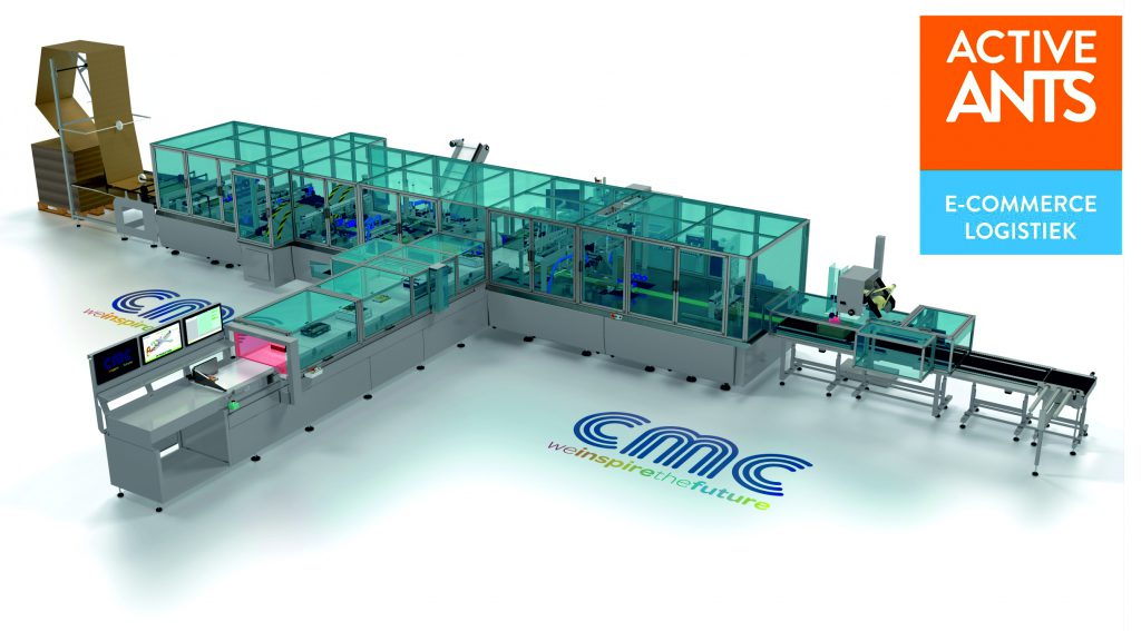 Dutch 3PL Active Ants Signs Up To CMC's Cartonwrap