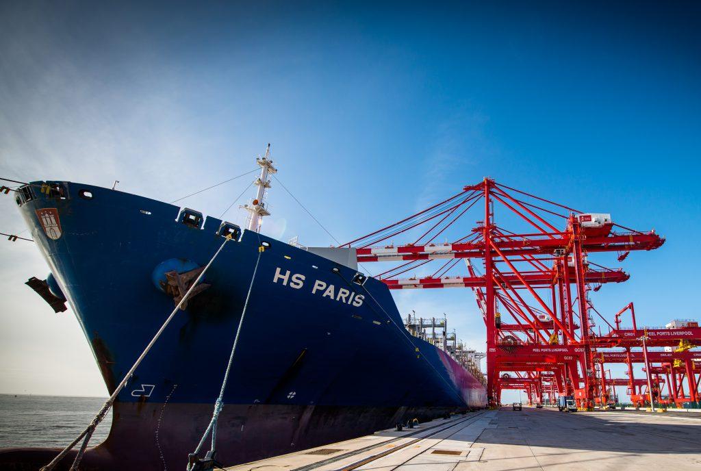 Port Of Liverpool Welcomes Big Visitor Logistics