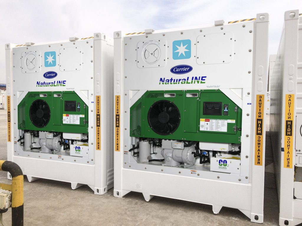 Maersk Invests In Carrier S Natural Refrigerant Container