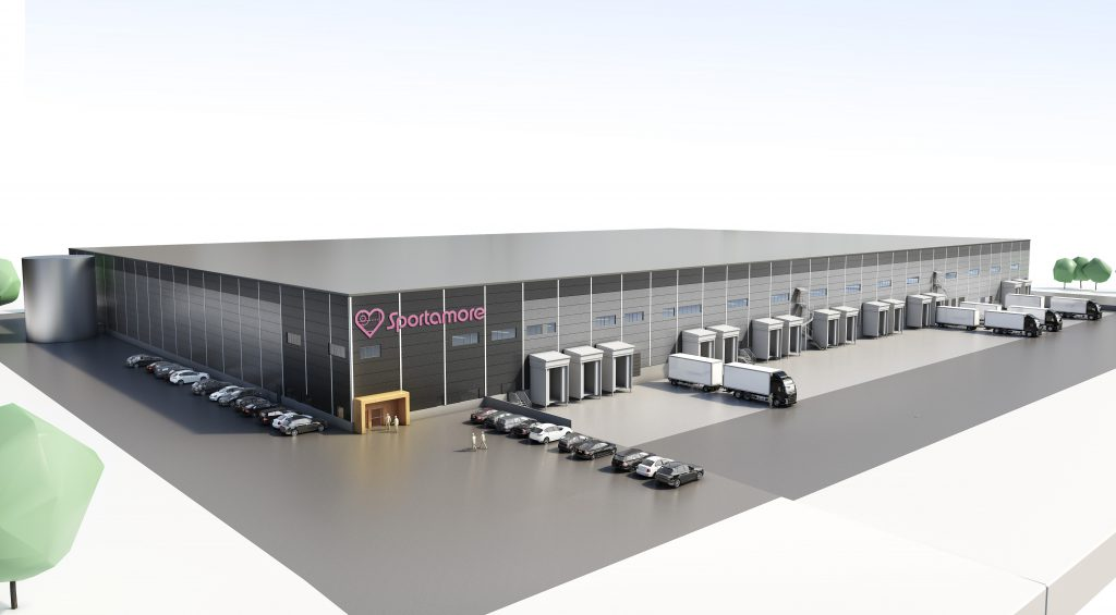 Logistics BusinessSportamore Builds Automated Warehouse Facility with Swisslog