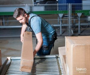 Logistics BusinessGeodis Exoskeleton Bears Burden For Warehouse Employees
