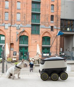 Logistics BusinessHermes Trials Delivery Robots in London Streets