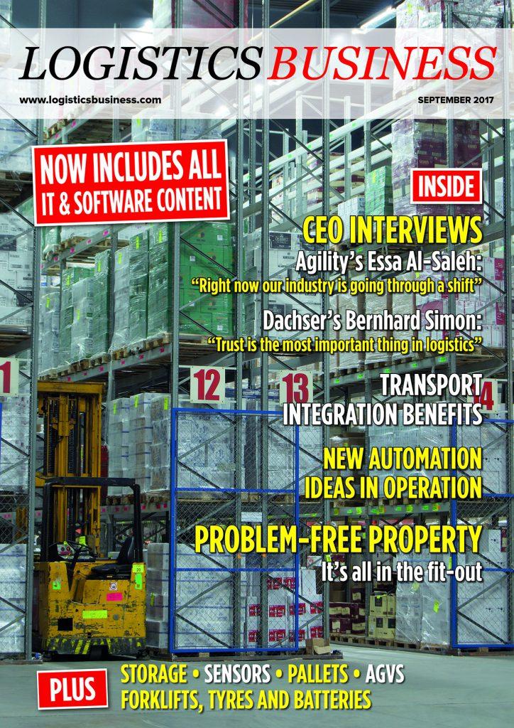 Logistics BusinessSeptember 2017