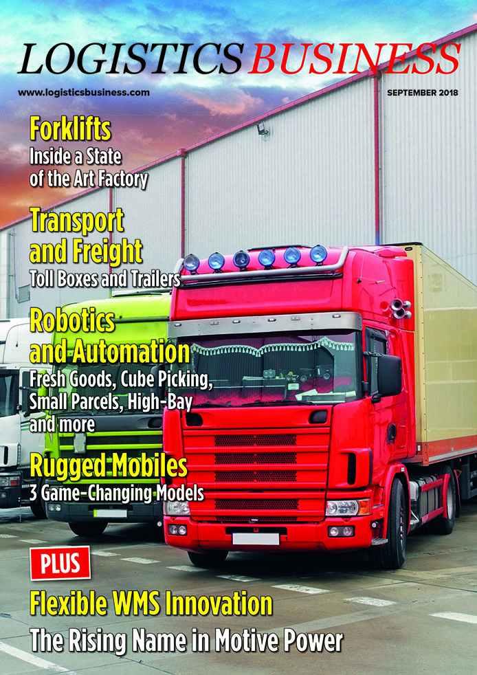 Logistics BusinessSeptember 2018