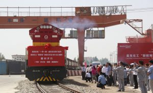 Logistics BusinessRailfreight for Chemicals from China to Europe