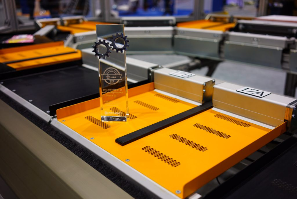 Logistics BusinessSorter Manufacturer Celebrates ProMat Innovation Award
