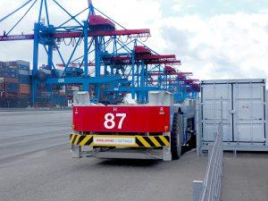 Logistics BusinessTerminal Automation Step Forward With Konecranes AGV