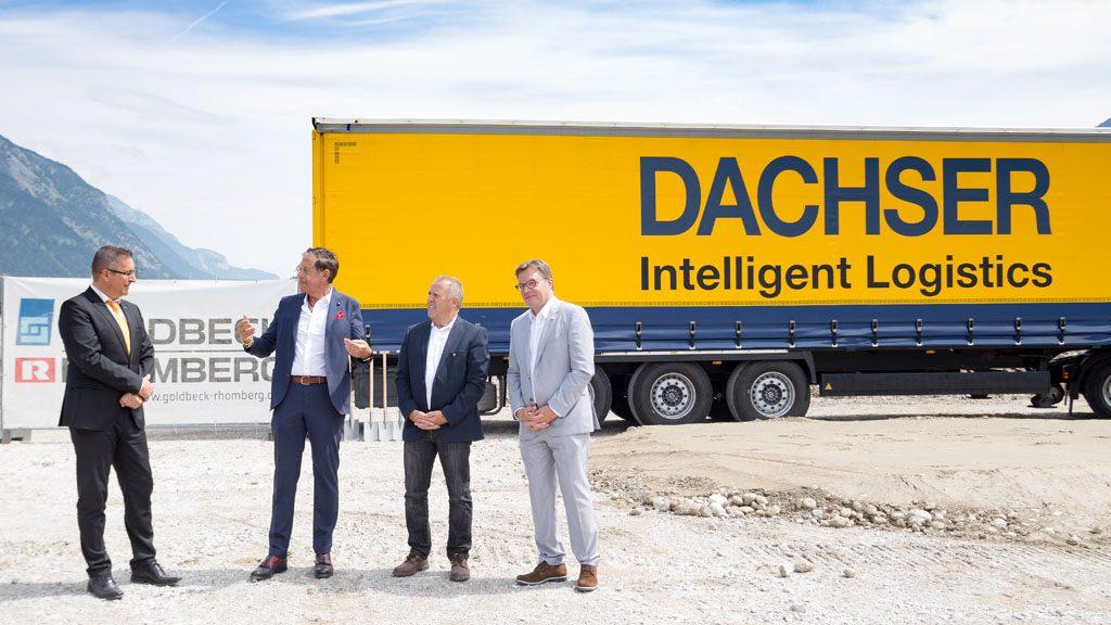 Logistics BusinessNew Austria Terminal For Dachser Logistics