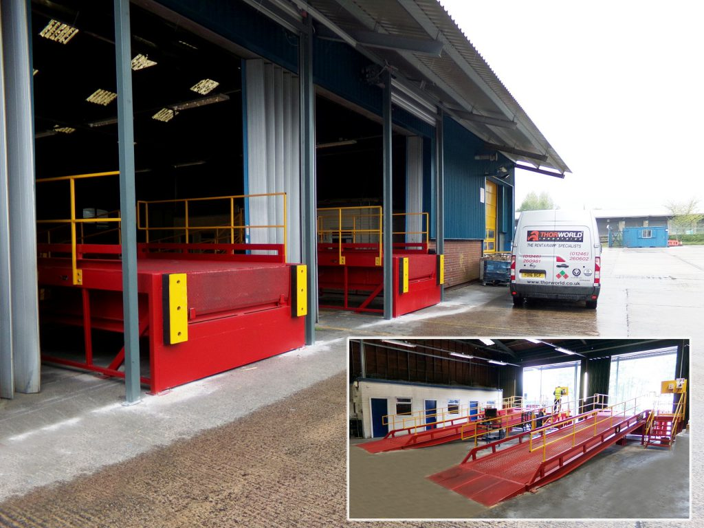Logistics BusinessNew Thorworld Docking and Bays For UK Carpet Maker