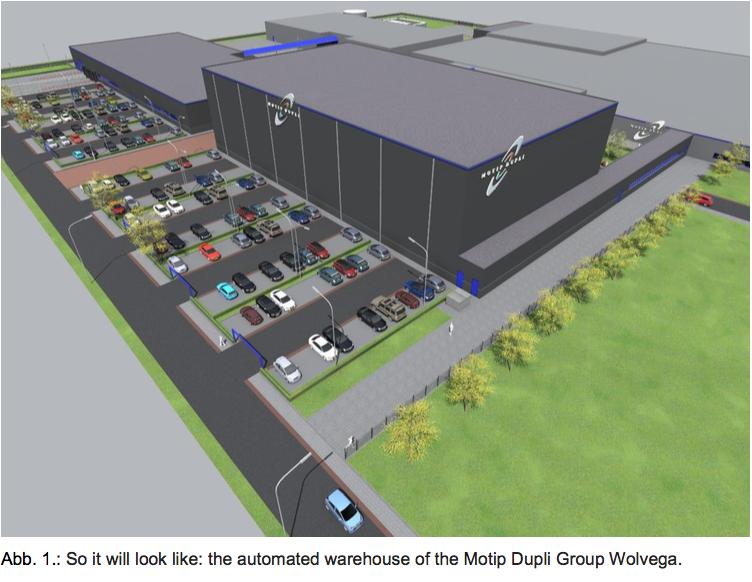 Logistics BusinessJungheinrich Designs Warehouse Automation Site for Motip Dupli