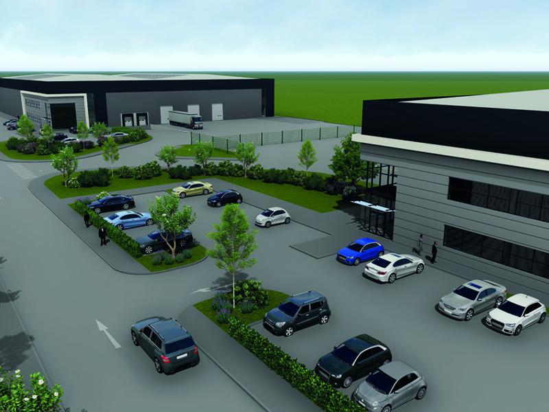 Logistics BusinessGriffen Starts Latest Phase of Prime UK Midlands Logistics Park