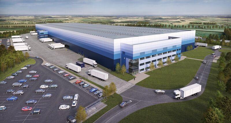 Logistics BusinessIDI Gazeley to Deliver 21m-High Warehouse at Milton Keynes