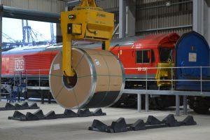 Logistics BusinessLondon Thamesport Receives First Train Move for Armitt Group