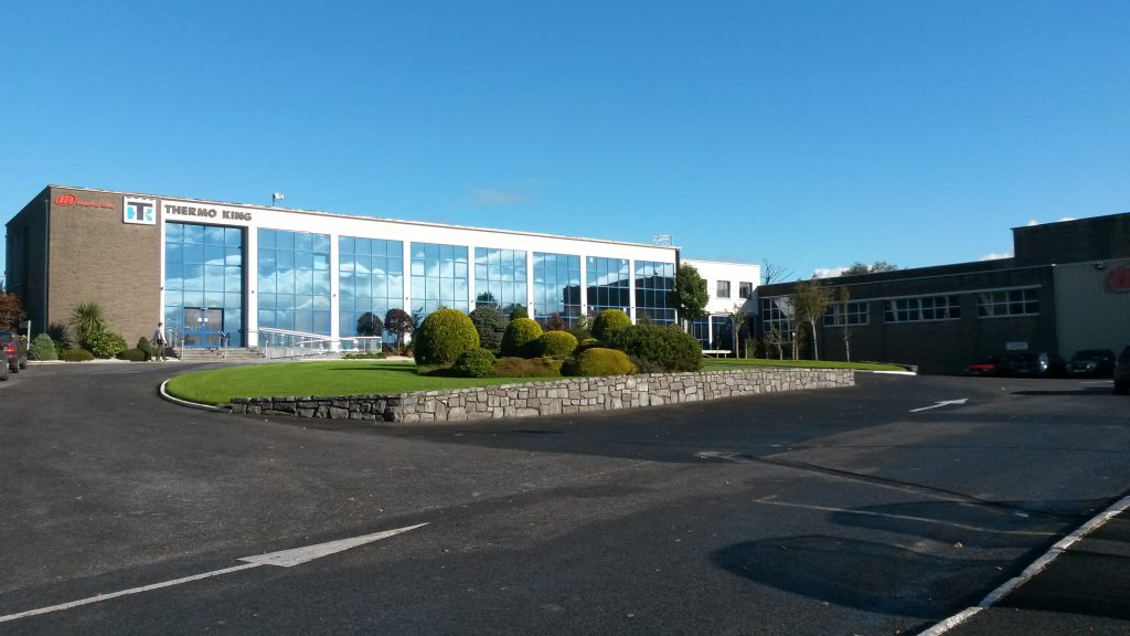 Logistics BusinessZero Waste to Landfill for Thermo King Galway Manufacturing Facility