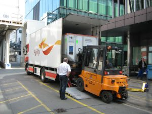 Logistics BusinessEnhanced Tracking Application Gives Boost to Event Logistics