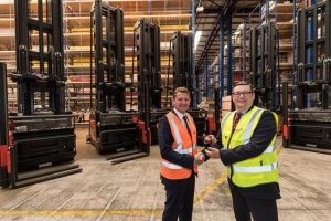 Logistics Business£7 Million Investment in Linde Trucks by Paper and Packaging Specialist