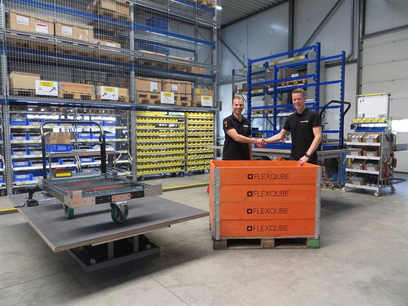 Logistics BusinessNetherlands and Belgium Partnership for Industrial Cart Specialists