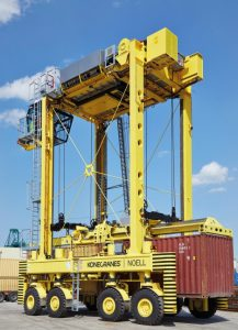 Logistics BusinessMajor Service Agreement For Konecranes at Antwerp Container Terminal