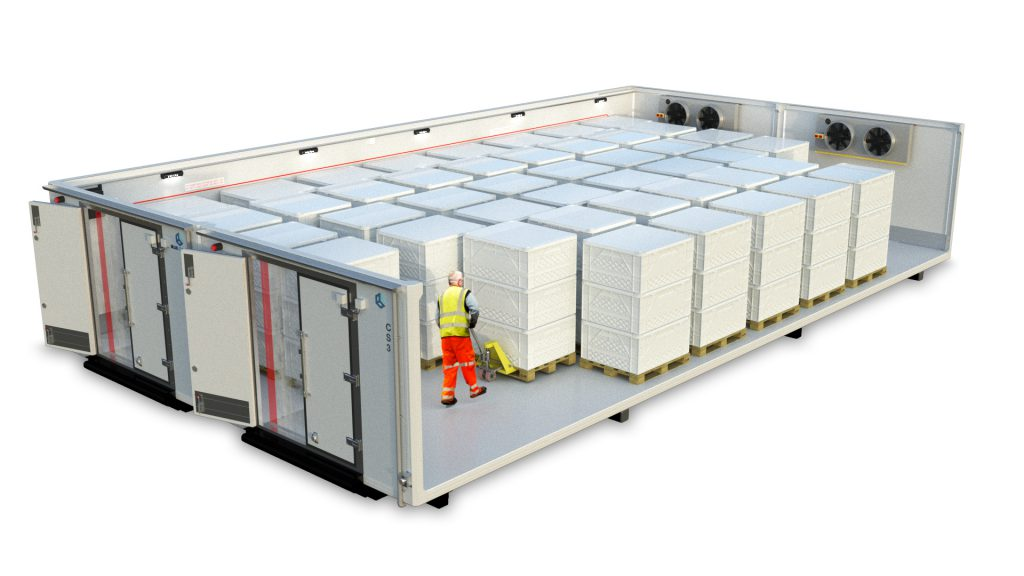 Cold Storage: Optimization by Degrees