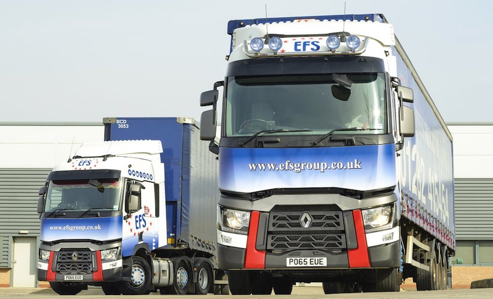 Freight provider efs global acquires logistics operator for Sdb business
