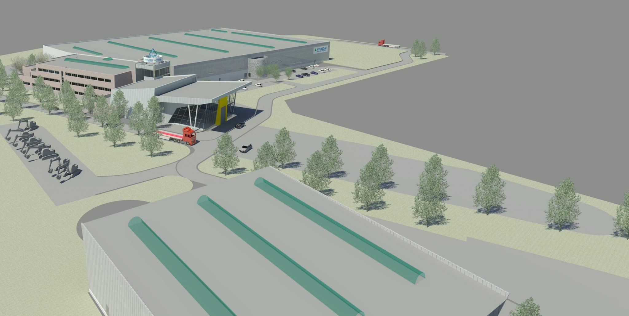 Hundai will build a new logistics complex in the Moscow region 54