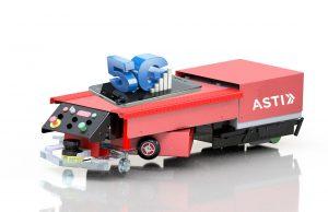 Logistics Business5G Technology Applied to ASTI Mobile Robotics' AGVs