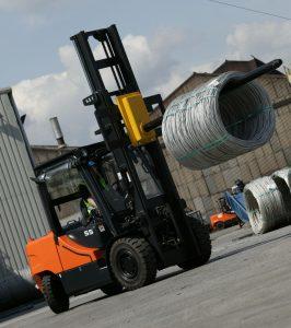 Logistics BusinessRetail Distribution Sector Drives UK Forklift Sales