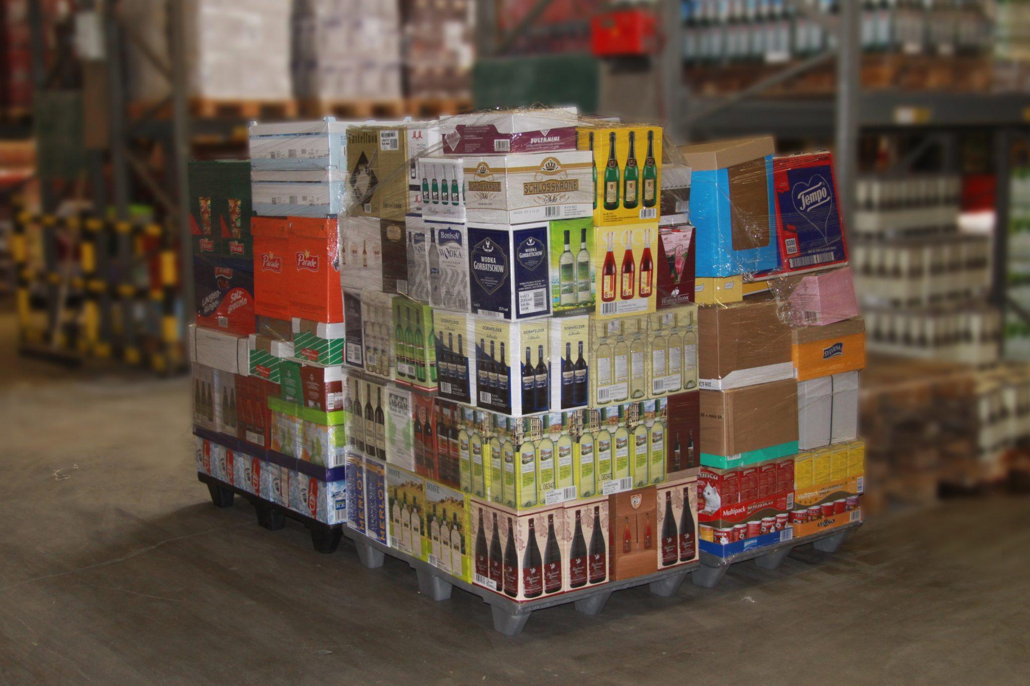 Food Distribution Pallet Admired At Lyon Trade Fair