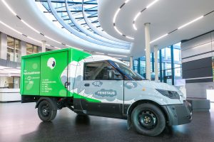 Logistics BusinessDeutsche Post DHL Partnership Claims First Emission Neutral Vehicle