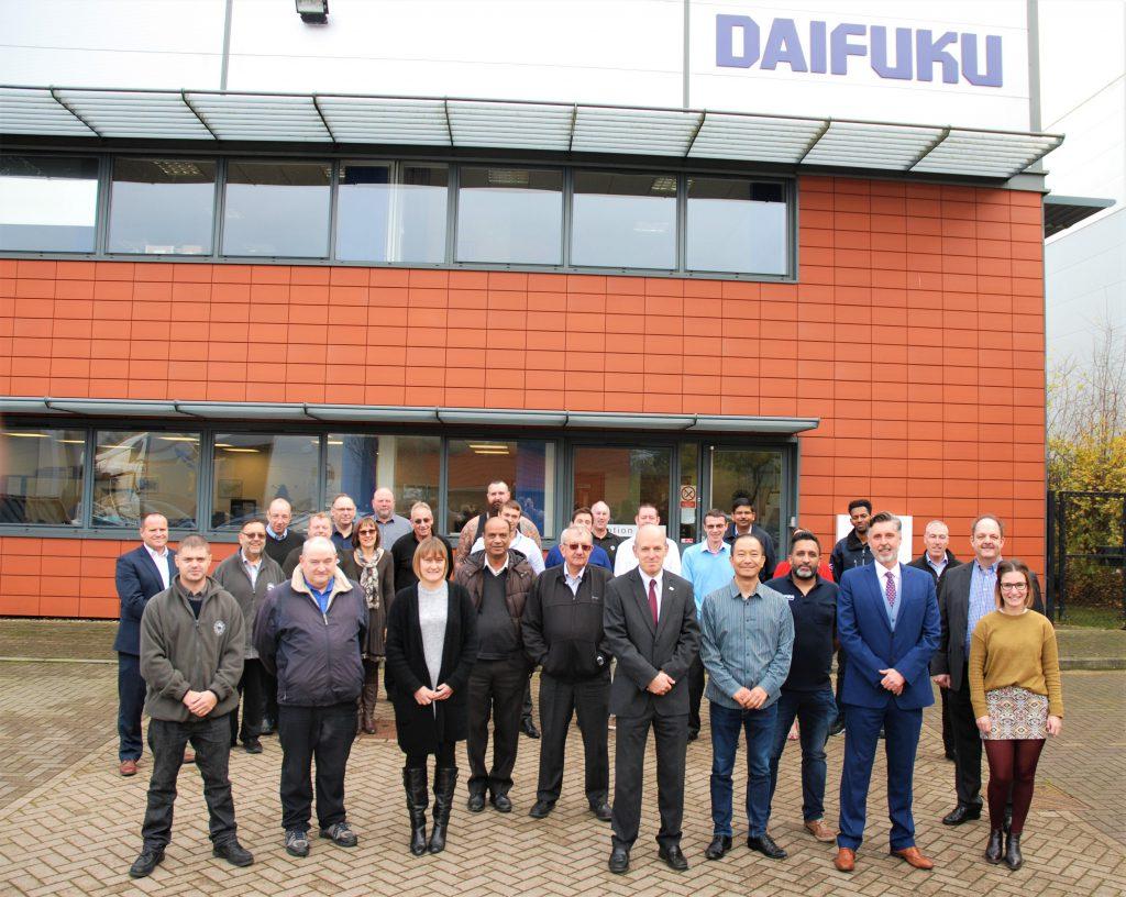 Logistics Business80-Year Anniversary Celebration for Daifuku