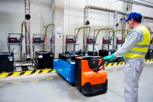 Logistics BusinessCase Study: New Charging Technology Improves Results