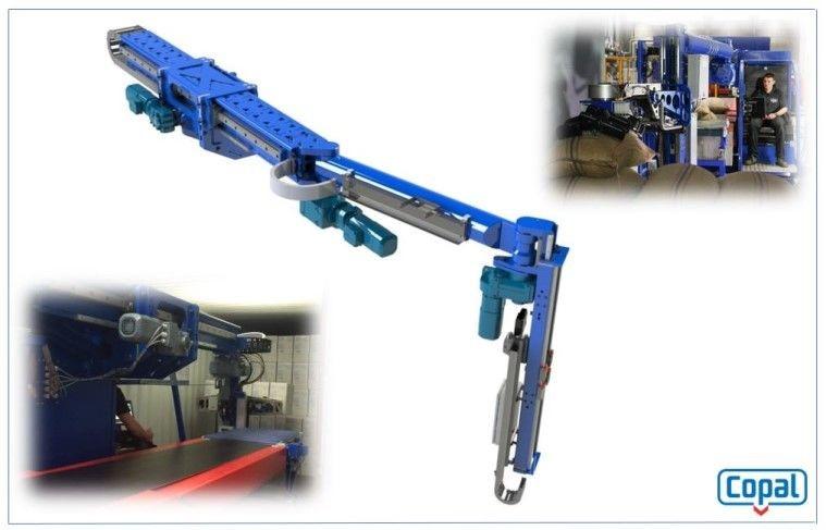 Logistics BusinessContainer Unloading Automator Reveals New Technology