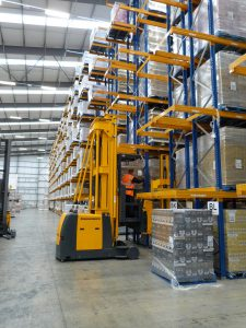 Logistics BusinessFloor Joint Mapping Helps Space Planning Solution for 3PL