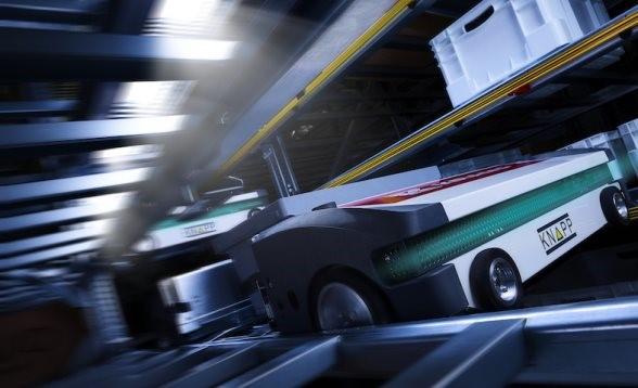 Logistics BusinessFirst Shuttle Delivered