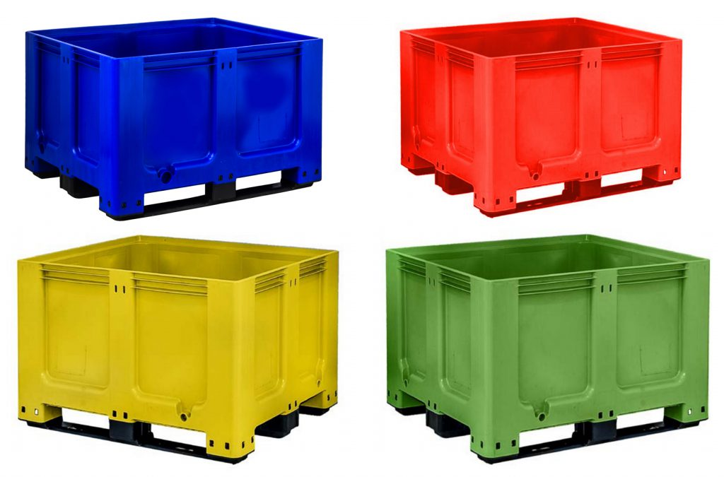 Manufacturer JCOPLASTIC Which Secures The Company Sole UK Distribution Rights For JCOPLASTICs Range Of Industrial And Agricultural Rigid Pallet Boxes