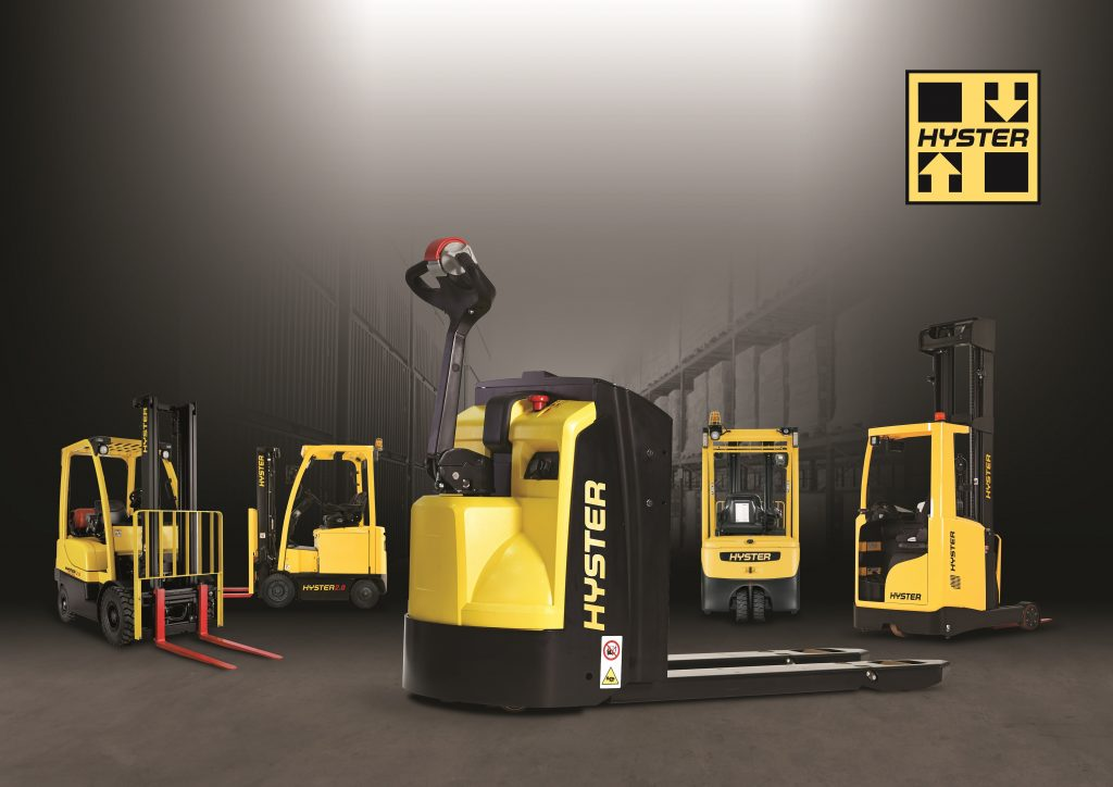 hyster lift trucks names new exclusive dealer in spain