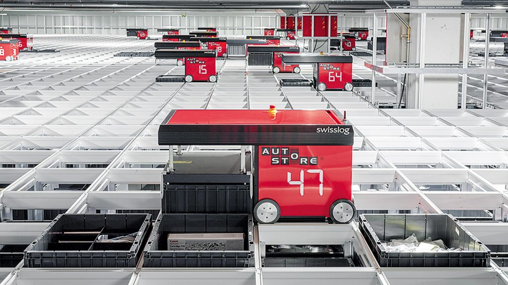 Logistics BusinessSuccess for Swisslog's AutoStore Solution with US Contract Win