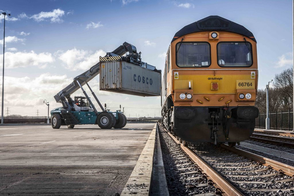 Uk S Latest Intermodal Rail Freight Hub Opens In Doncaster