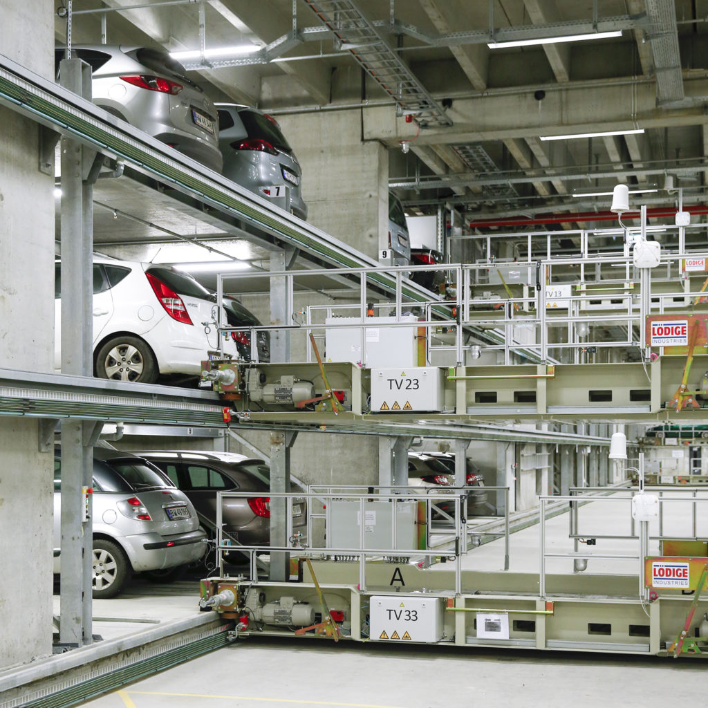 Logistics BusinessFully Automated Car Park Passes 720,000 Vehicles