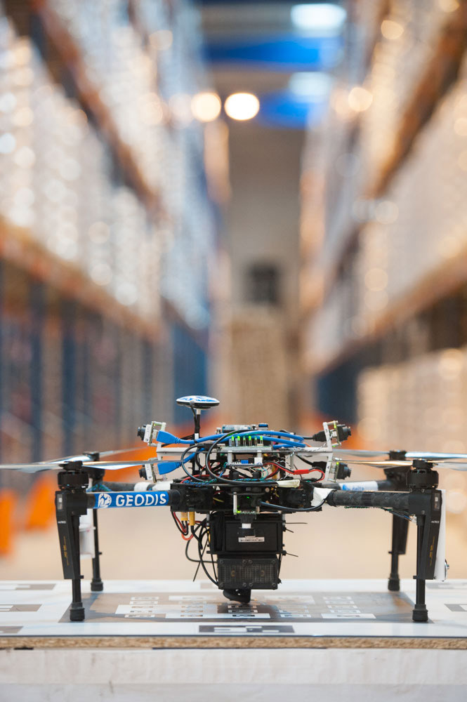 Logistics BusinessWarehouse Inventory Drone Solution to Go Live Later This Year