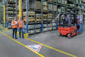 Logistics BusinessNew Optical Warning System Added to Linde Safety Features Portfolio