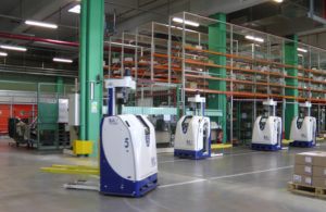 Logistics BusinessNew Management Structure for French Robotics and AGV Player