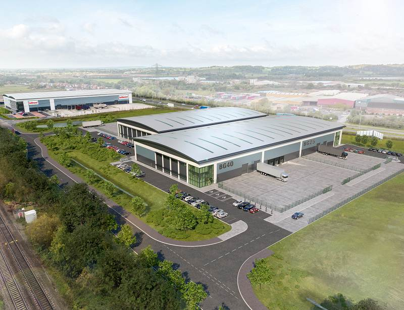 Logistics BusinessEast Midlands Warehouse Development to Suit Flexible Logistics Players