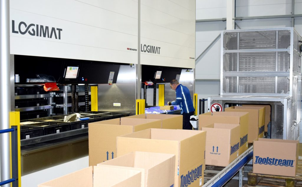 Logistics BusinessCase Study: Tooling Up with Storage and Picking System