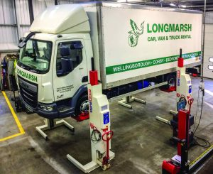 Logistics BusinessStertil Koni Mobile Column Lifts Boost Workshop Operations